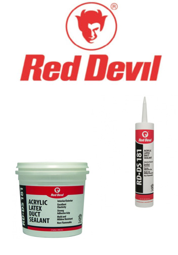 Red Devil HVAC sealants